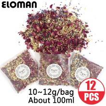 100% natural wedding confetti ELOMAN dried flower petals pop wedding and party decoration biodegradable rose petal confetti
