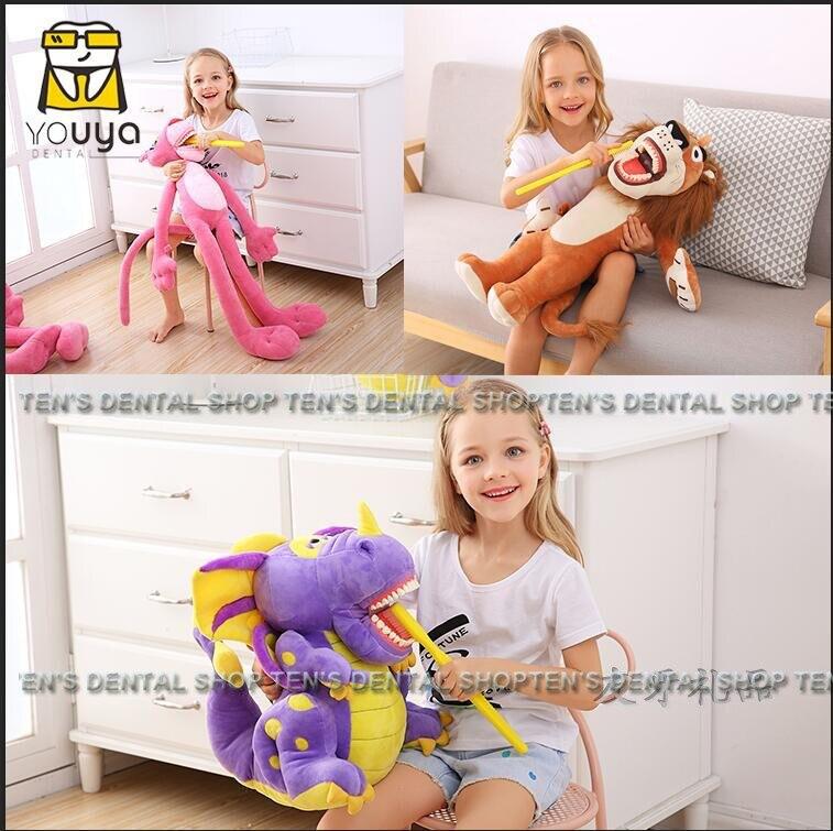 2018 nouveau arrivel 1 pièce nouveau type dent modèle dent poupée éducation précoce brossage dents poupée cadeaux dentaires