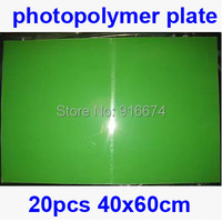 Fast Free Shipping Discount 20pcs 40cmx60cm Photopolymer Plate Stamp Making DIY Letterpress Polymer Stamp Maker Systerm