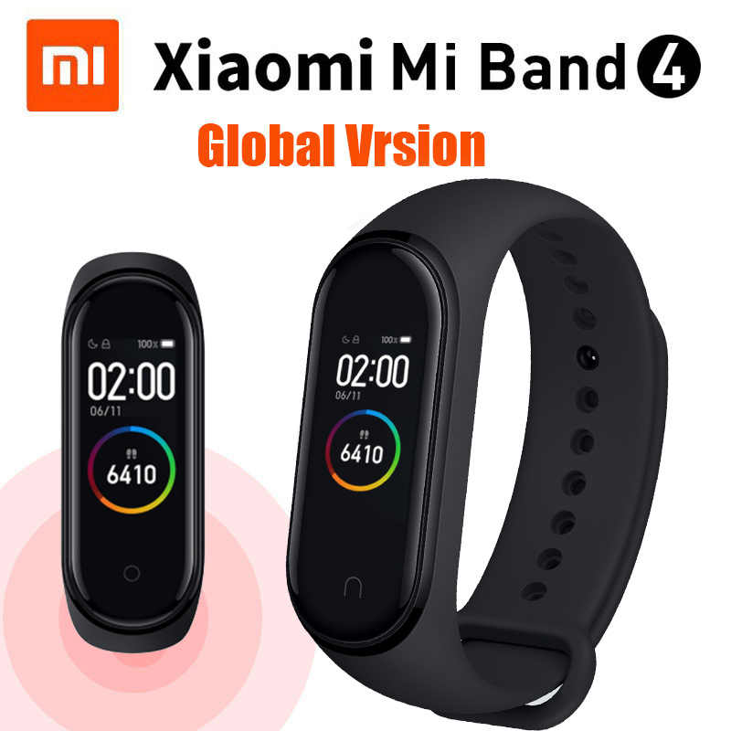 Original Xiaomi Mi Band 4 NewDesign Swim 5ATM Passometer Sport Smart  Wristband 0 95
