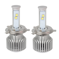6000K H4 Hi Lo Car Styling 60W Each Bulb High Low Beam Version Of X7 LED