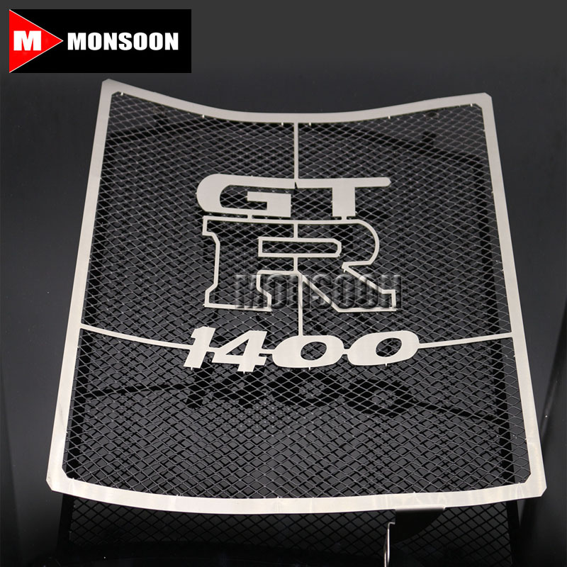 For Kawasaki GTR1400 GTR 1400 2007-2014 Motorcycle Accessories Radiator Grille Guard Cover Fuel Tank Protection