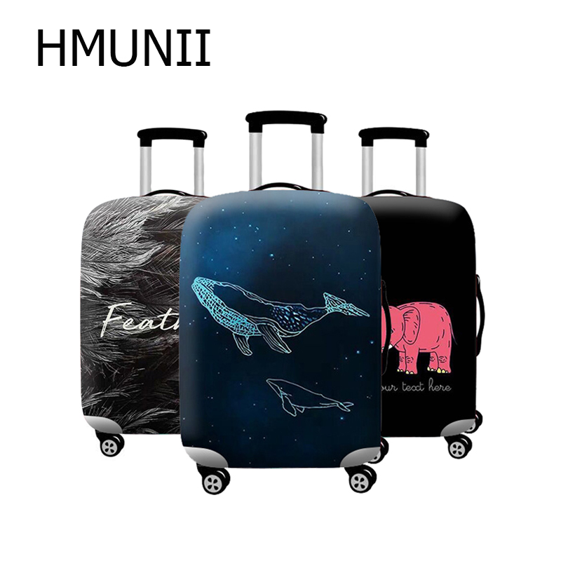 HMUNII New Travel Accessories Travel Luggage Protective Cover - Stretchable Suitcase Protector Case Suitable For 18-32 Inch Case