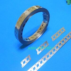 Image 2 - Tira de níquel puro de batería de litio de 1KG, 2W 3W 4W para paquete de batería 18650, espaciado de celdas 18,5mm, barra colectora de níquel tipo W