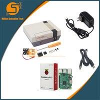 Raspberry Pi 3 NESPi Case Retroflag Box Raspberry Pi 3 B Fan 5V 3A Power HDMI