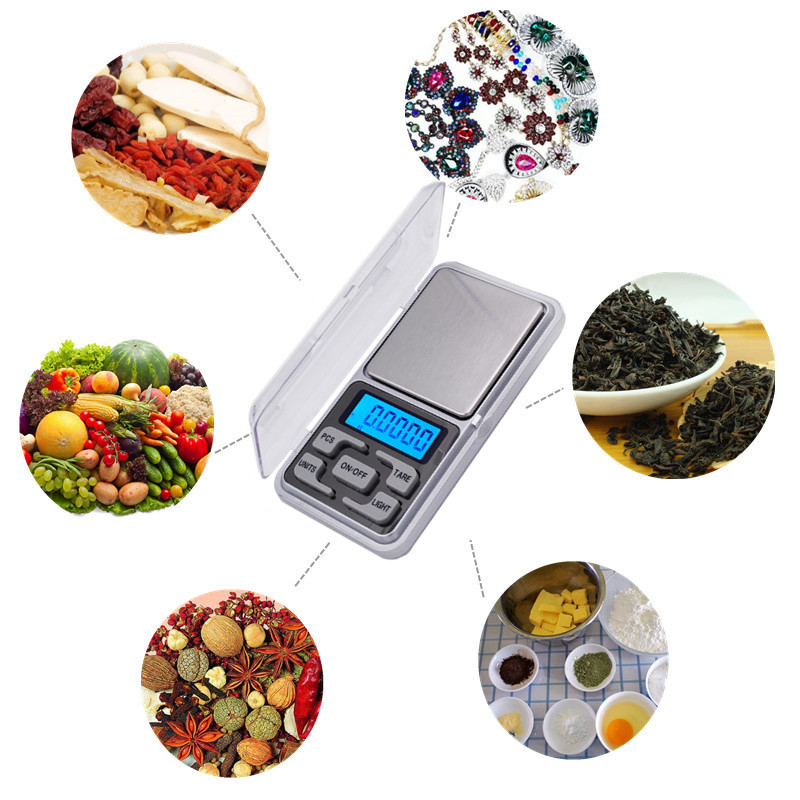 100db by dhl fedex 0,01 g 200 g mini elektronikus digitális ékszer - Mérőműszerek - Fénykép 6