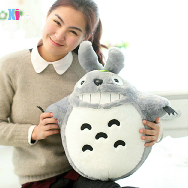 Totoro Smiling Plush Toy