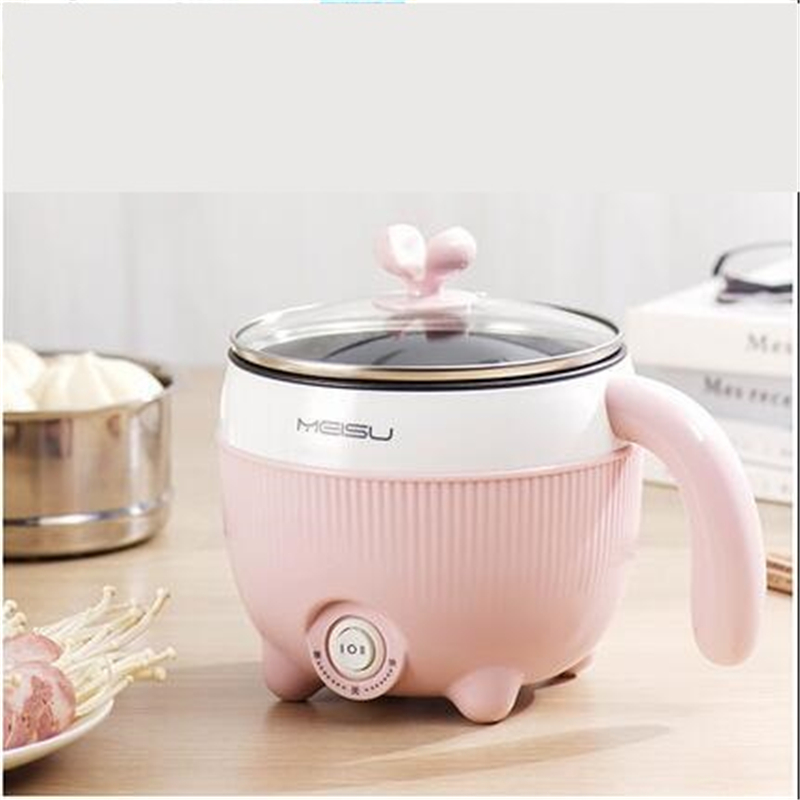220V Multifunction Electric Cooking Pot Household Mini Cooking Machine Non-stick /Stainless Steel Inner  Available Multi Cooker