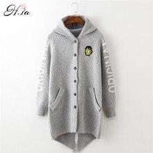 H. surdimensionné manteau épais