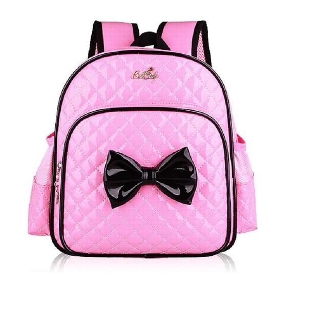 f5b249d411 Couro PU impermeável saco de jardim de infância infants  escola bags  crianças mochila mochila infantil