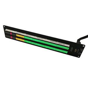 Image 2 - AIYIMA AS60 LED Spettro Musicale Indicatore Dual Channel 60 Livello Professionale Visualizzazione Del Volume FAI DA TE Elettronico Luce VU Meter