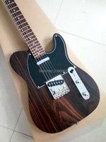 Exclusif personnalisé Télédiffusion palissandre guitare George Harrison 001 Maître construit par Paul Waller, palissandre corps, manche et la touche