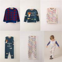 Otariinae and Plastic is Over PRINT knited for boys girls kids baby sweater
