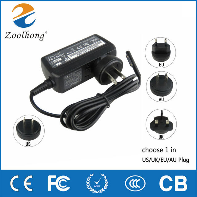 12V 2.58A 36W power adapter charger for Microsoft Surface Pro3 Pro 3 US/UK/EU /AUPlug choose 1 in 4