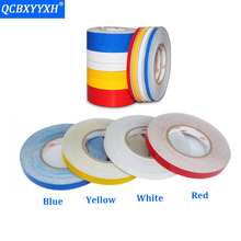 QCBXYYXH 5M*1CM Reflective Strips Car Stickers Car-styling Motorcycle Decoration Automobiles Safety Bikes Warning Mark Tapes