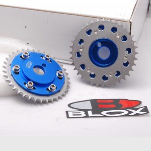 Image 3 - Blox 2Pcs Adjustable Cam Gears Timing Gear pulley kit For Nissian engine S13 SR20DE / T Inlet and Exhaust EP CGSR20 BL