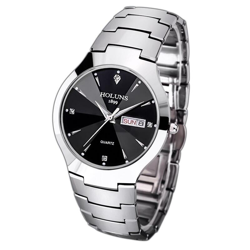 HOLUNS Luxury Top Brand Men s Watch tungsten steel Wrist Watch waterproof Business Quartz watch Fashion