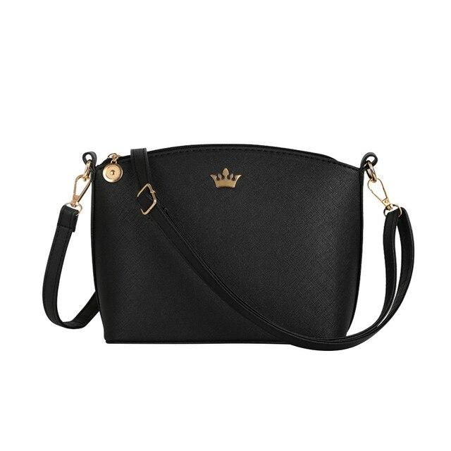 Bolsos de mano de color caramelo de la corona imperial pequeña Casual de las señoras del bolso del Partido de las señoras bolsos del mensajero del hombro de las mujeres # YL5