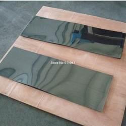 1 шт. NiTi пластина, супер эластичный нитиноловый лист, 1,45 мм толщина 125 мм ширина 300 мм длина, бесплатная доставка
