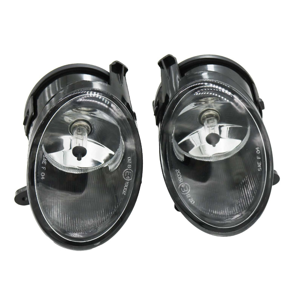 2Pcs For Audi A6 C6 2005 2006 2007 2008 Car-styling Front Halogen Fog Light Fog Lamp Assembly With Bulb 2pcs auto right left fog light lamp car styling h11 halogen light 12v 55w bulb assembly for ford fusion estate ju  2002 2008
