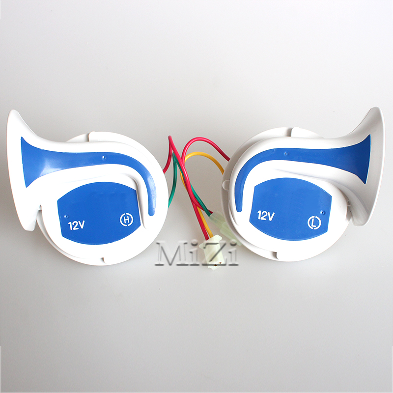 Air Snail Horn 8 Sounds Digital Electric Siren Super Loud for all 12 V Cars Trucks Motorcycles Vehicles. Your Best Choice