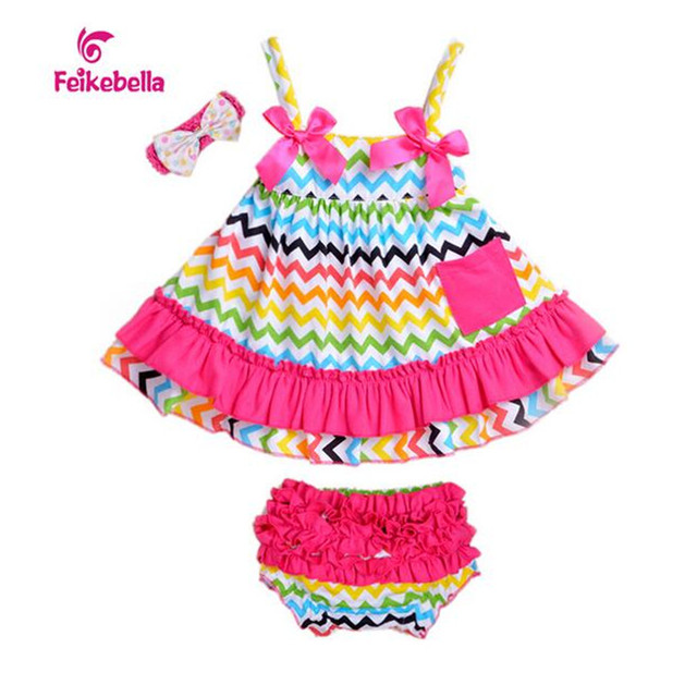 2016 Cute Baby Girl Party Dress Wedding Baby Romper Cotton Clothes Infant Girls Outfit Vestido de Batizado Baby Clothes Beach