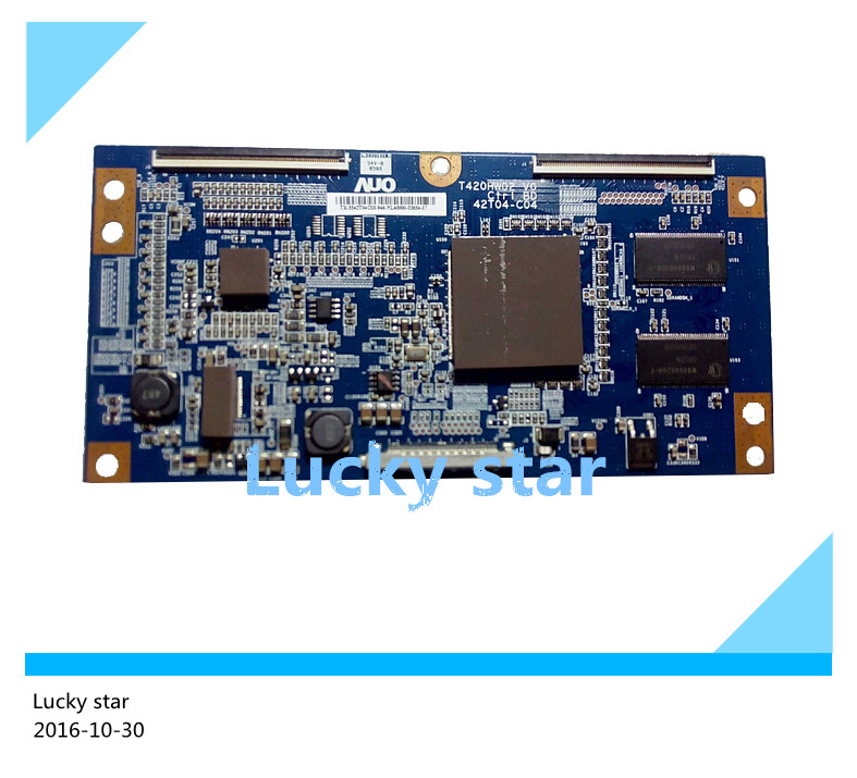 где купить 98% new good working High-quality for logic board T420HW02 V0 42T04-C04 T420HW02 VO TCL L42M61F дешево
