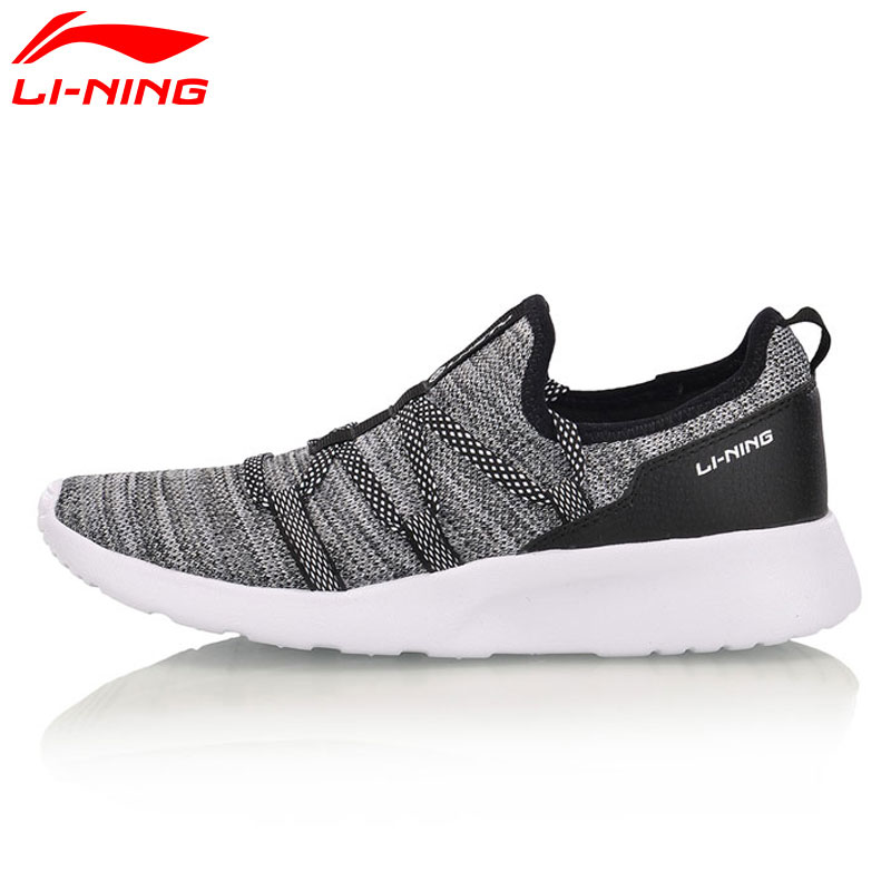 Li-Ning Women's FANCY Lifestyle Shoes Breathable Fitness Streetwear LiNing Li Ning Sport Shoes Sneakers AGLM004 YXB053