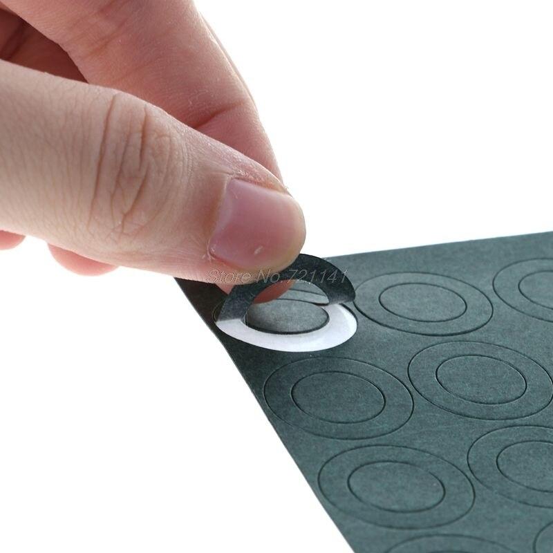 1S 18650 Battery Insulation Gasket Barley Paper Li Cell Insulating Glue Patch Insulation Gasket MAR20 Dropship 4