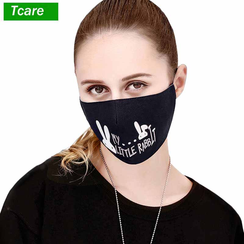 Personal Health Care Imported From Abroad 1pcs Dust Mask Anti Pollution Mask Pm2.5 Activated Carbon Filter Insert Can Washed Reusable Pollen Masks Cotton Mouth Masks