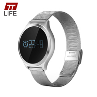 TTLIFE Smart Watch Men Blood Pressure Monitor Relogio Heart Rate Monitor Call Reminder Watches Message Notification