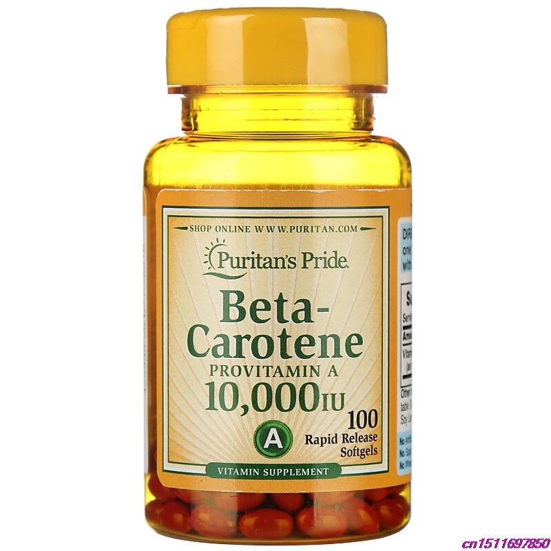 Beta-Carotene VA maintain healthy eyes antioxidant benefit Nutritional support eyes Contributes vision prevent night blindedness pride vitamin d3 1000 iu 100 healthy bone teeth essential nutrient aids in calcium absorption maintain a healthy immune system