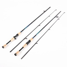 Top Quality 1.8M  Portable Fishing Rod Spinning Fish Hand Fishing Tackle Lure Rod