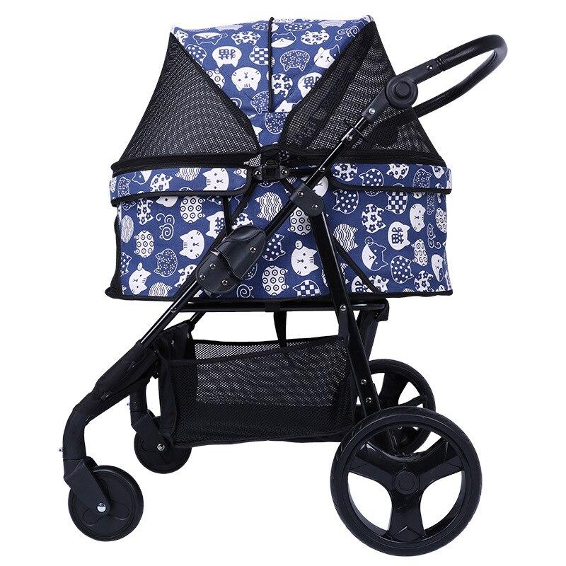 Perrera plegable portátil de 30 kg para cochecito de perro, bolsa para gato, funda para asiento de coche para mascotas interior-in Transportines de perro from Hogar y Mascotas    1