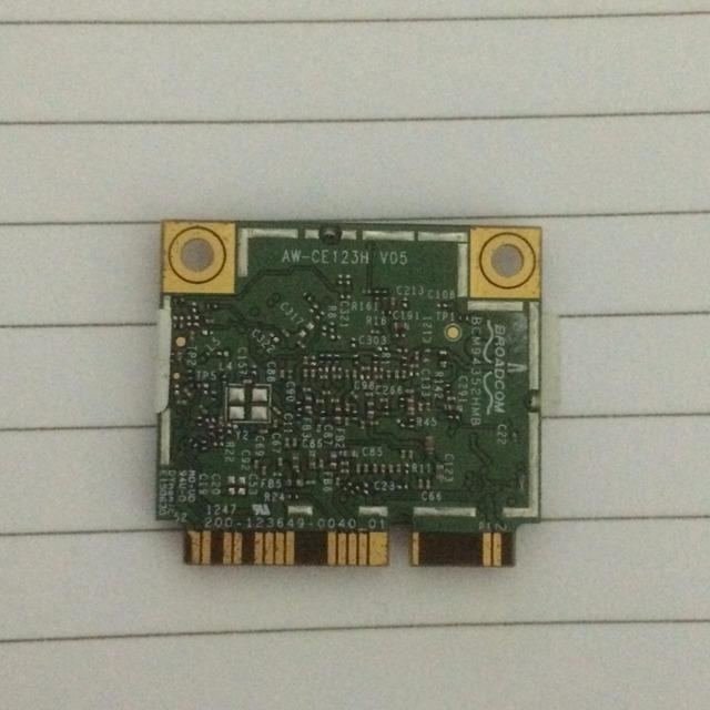 AzureWave AW-CE123H BCM4352 BCM94352HMB Metade Mini-pcie PCI-express Cartão 802.11AC 867 Mhz Sem Fio WI-FI À INTERNET SEM FIOS Bluetooth