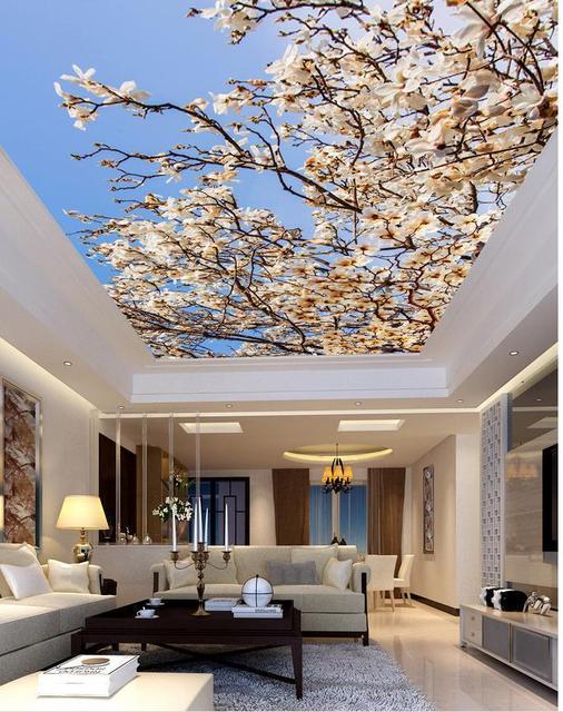 Paesaggio murales carta da parati soffitti 3d carta da for Carta da parati moderna per soggiorno