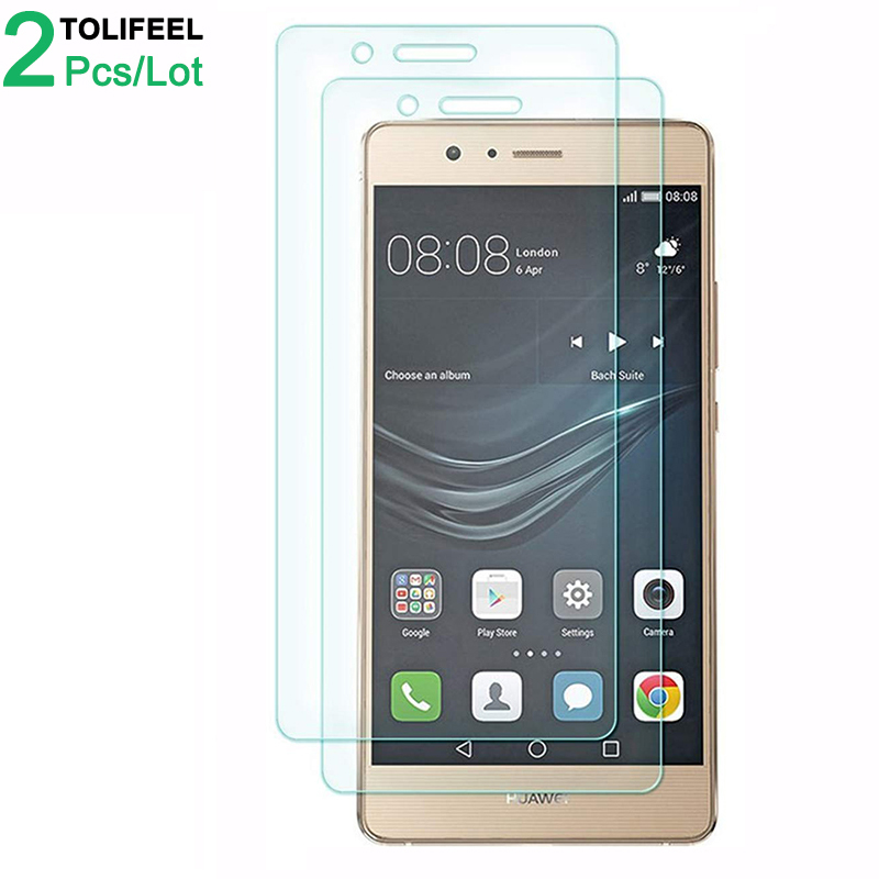 2Pcs Tempered Glass For Huawei P9 Lite Screen Protector 9H 2.5D Phone On Protective Glass For Huawei P9 Lite 2016 Glass