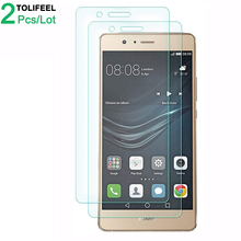 2Pcs Tempered Glass For Huawei P9 Lite Screen Protector 9H 2