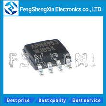 20pcs/lot New APM4953 4953 Dual P-Channel Enhancement Mode MOSFET SOP-8(China)