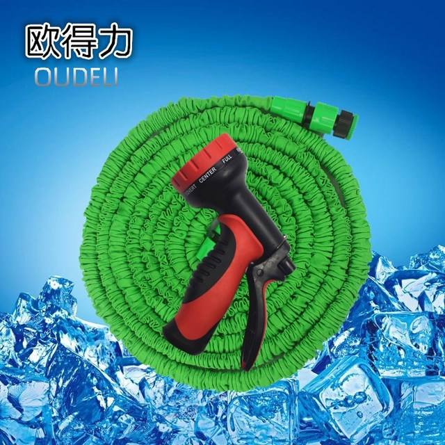 Garden Hose Expandable Hose with 10 Pattern Spray Nozzle High ...