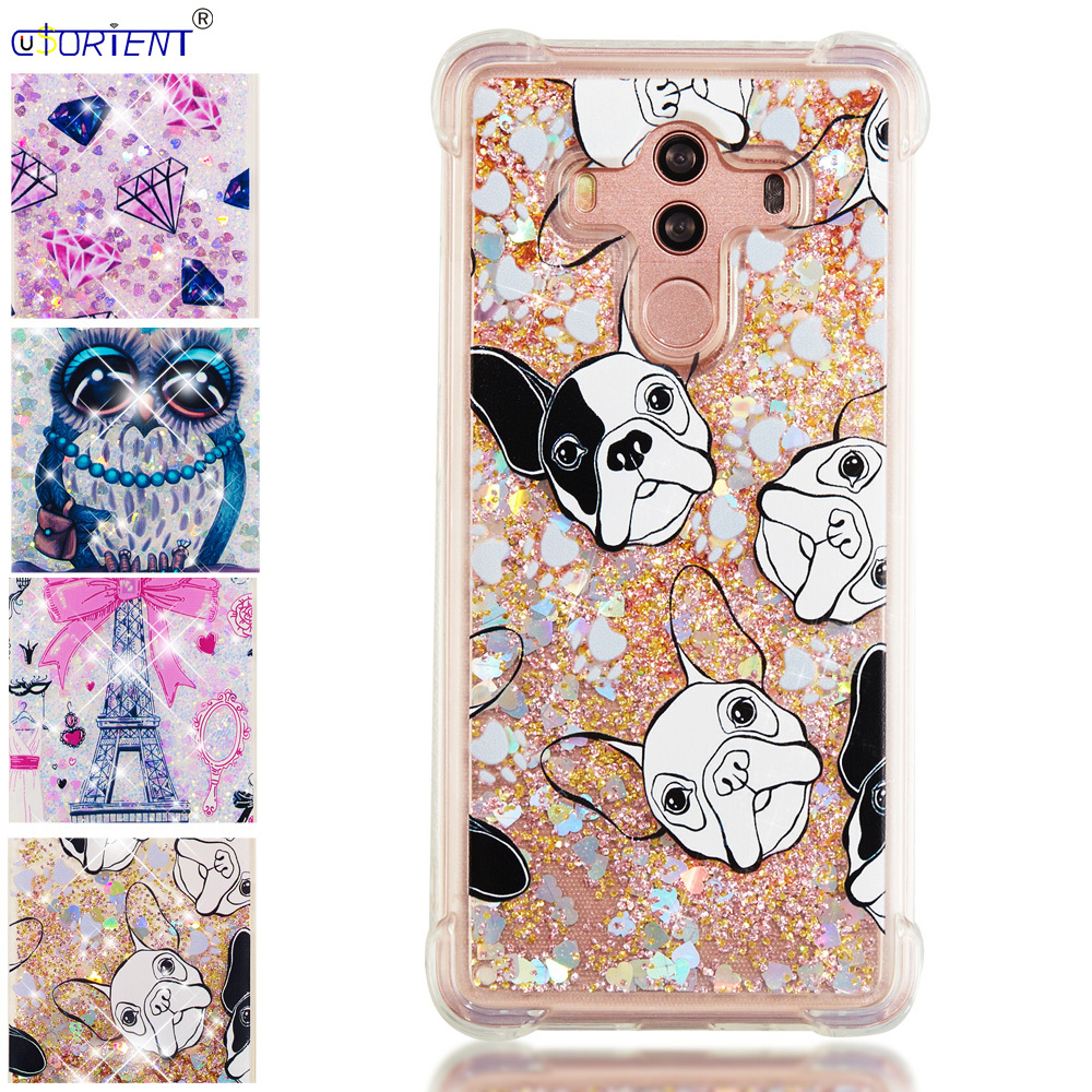 Cellphones & Telecommunications Enthusiastic Bling Case For Huawei Mate10 Mate 10 Pro Glitter Dynamic Liquid Quicksand Silicone Tpu Phone Back Cover Bla-l29 Bla-l09 Funda Phone Bags & Cases