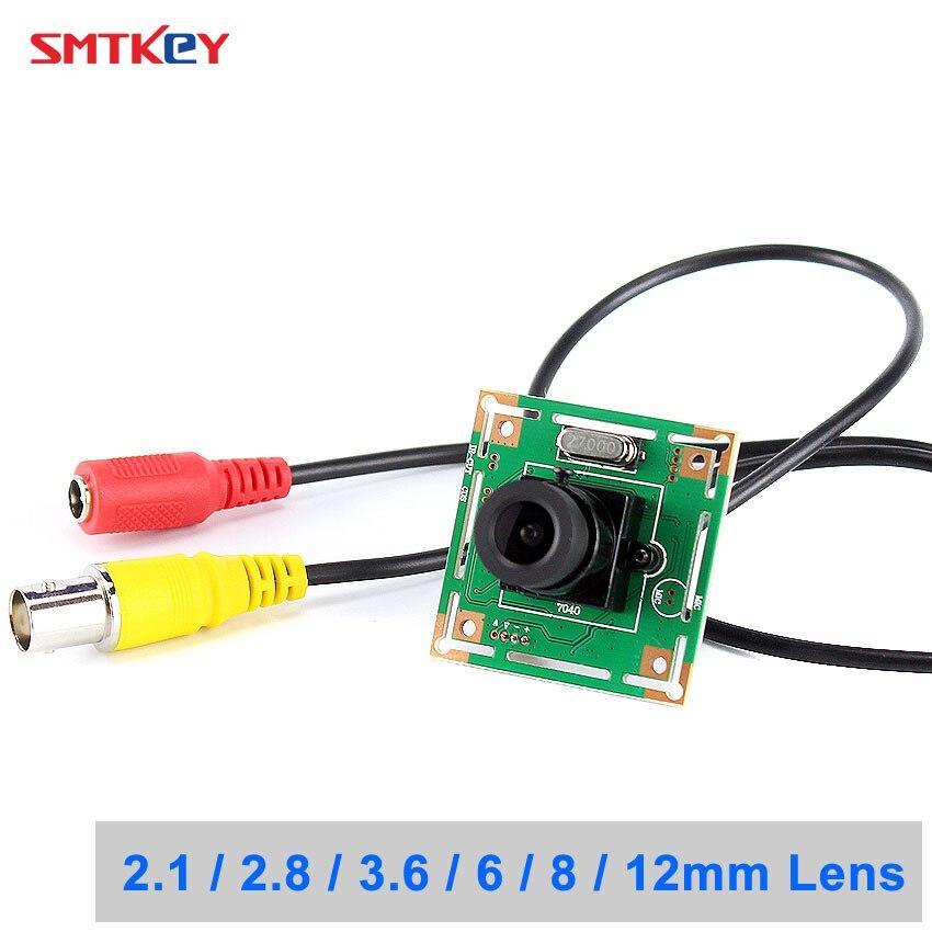 SMTKEY large vue 700TVL couleur CMOS caméra 960H caméra analogique à moniteur TV ou système DVR