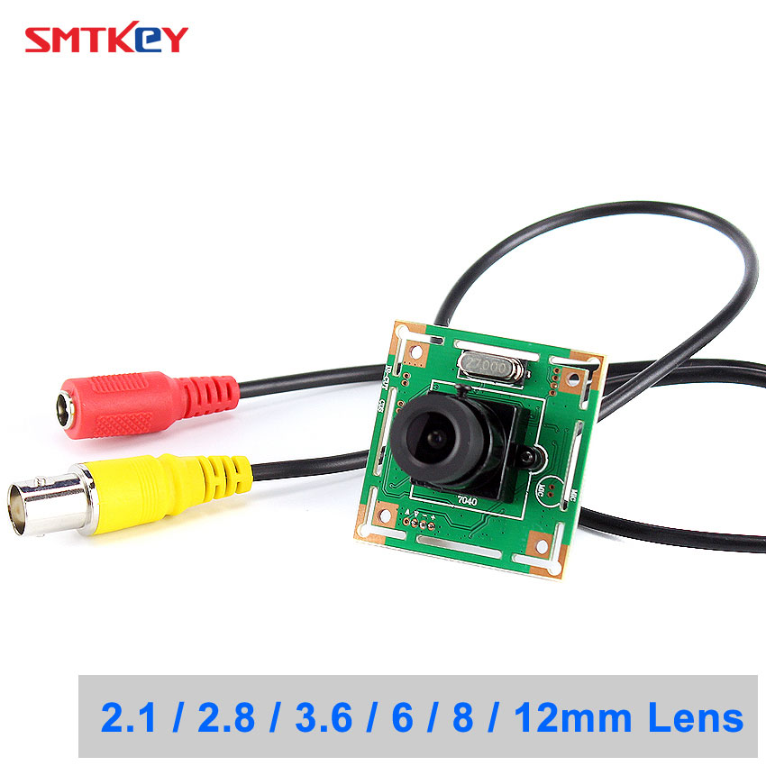SMTKEY amplia vista 700TVL Color cámara CMOS 960 H de la cámara analógica TV monitor o sistema DVR
