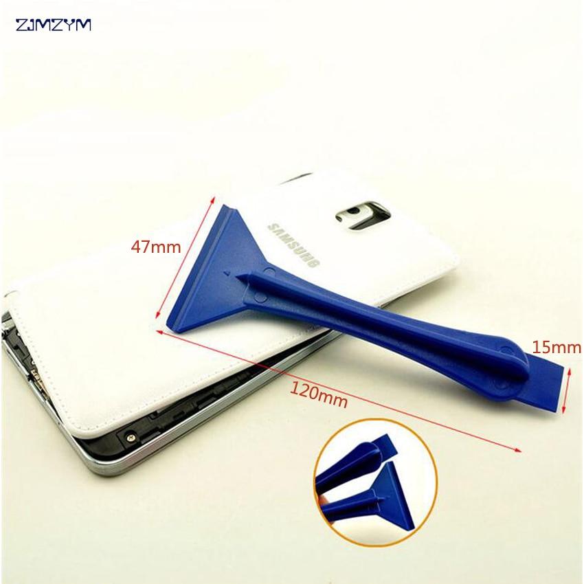 Hot selling mobiele telefoon reparatie opening tool Plastic koevoet ipad folie schraper demonteren tool voor mobiele telefoon