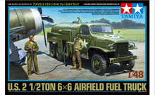 Tamiya Model Scale 1/48 military models 32579 U.S. 2 21/2 TON 6x6 Airfield Fuel Truck
