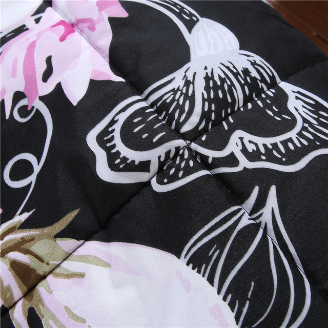 FLOWER SKULL 3D COMFORTER BEDDING SETS
