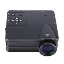 H80 Proyector 320×480 Píxeles 800 Lúmenes Portátil Proyector de Cine En Casa Full HD 1080 P Proyección Mini LED de Vídeo Proyector