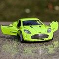 Подарок для мальчика 1:32 14.5 см астон мартин один - 77 автомобиля сувенирная автомобиля творческий сплав модель акустооптические - волоконно-оптический коуниверсален игры игрушки