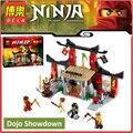 Original BELA 10319 Compatible Legoes Ninjagoes Figuras Dojo Enfrentamiento 70756 Ladrillos de Construcción de Juguetes Para Los Niños