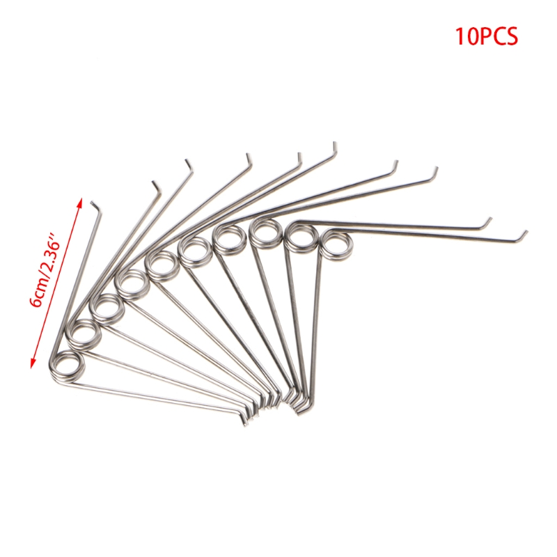 10Pcs V Shape Steel Compression Spring Gardening Scissors Accessories Tool
